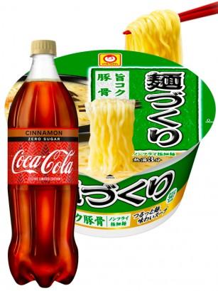 Menu DUO | Ramen Tonkotsu Kuri & Coca Cola Canela ZERO | OFERTA