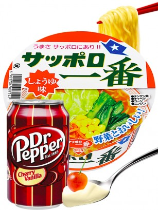 Menu DUO | Ramen Donburi Pollo & Dr Pepper Cereza Vainilla | OFERTA