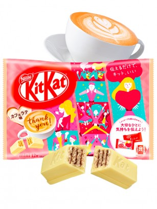 Mini Kit Kats Café Latte | Embajadores JO1 | 12 Unidades
