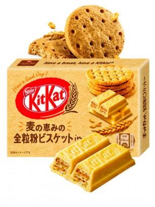 Mini Kit Kats Sabor Galletas Integrales | Edición Caja de Regalo 3 Unidades | ¡¡OFERTA!!