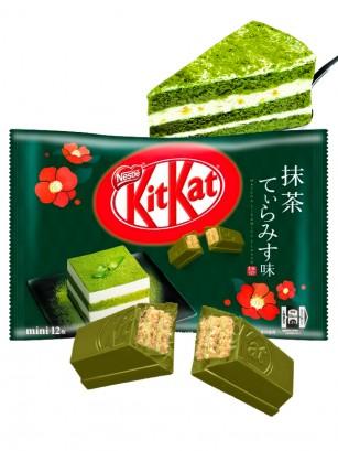 Mini Kit Kats de Tiramisu de Matcha | Edi. Limitada  | 12 Unidades