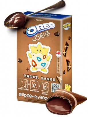 Mini Creps de Oreo rellenos de Chocolate | Edic. Pokemon 47 grs