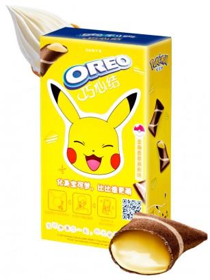 Mini Creps de Oreo rellenos de Vainilla | Edic. Pokemon 47 grs