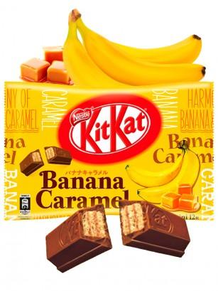 Mini Kit Kats de Banana y Caramelo | 12 Unidades