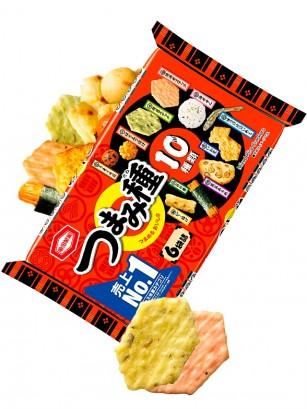 Mix de Snacks de Arroz Senbei Delicias Japonesas 130 grs.