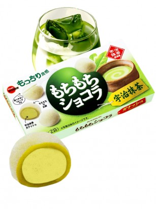 Mochis rellenos de Chocolate Blanco y Té Verde Uji Matcha 87 grs.