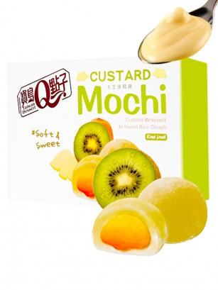 Mochis Daifuku de Crema Pastelera al Kiwi | Sakura Box 168 grs