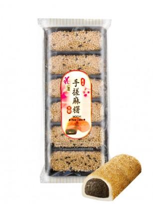 Mochis Daifuku de Crema de Azuki con Sésamo | Hechos a mano | 180 grs.