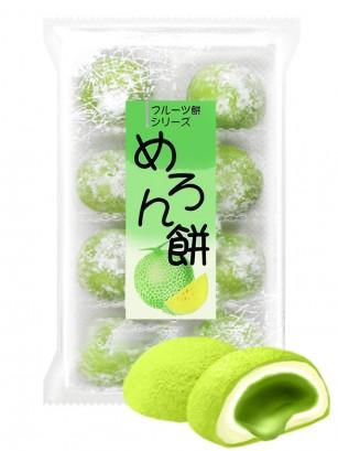 Pack Mochis Japoneses rellenos Daifuku de Crema de Melón