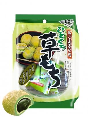 Daifuku Mochis Matcha de Crema Sésamo Negro 140 grs.