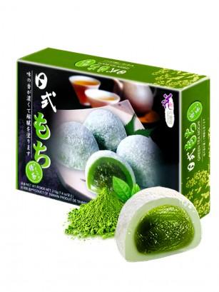 Mochis Daifuku de Crema de Té Verde | Loves Flower