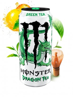 Monster Dragon Tea Té Verde | USA 458 ml