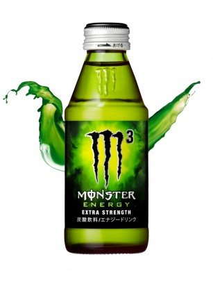 Monster Japón M3 Extra Strength | Formula Súper Concentrada 150 ml