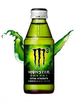 Bebida Energética Monster Japón M3 Extra Strength | Formula Súper Concentrada 150 ml