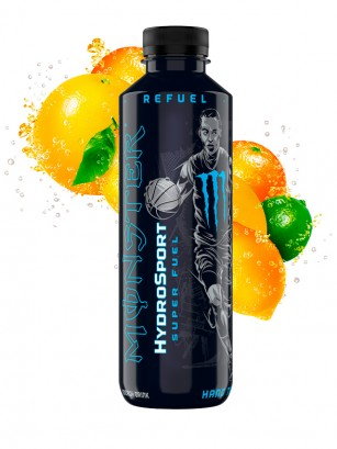 Monster Hydro Sport Hang Time | ZERO SUGAR 650ml.