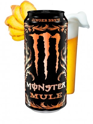 Monster Mule Ginger Brew | USA 473 ml
