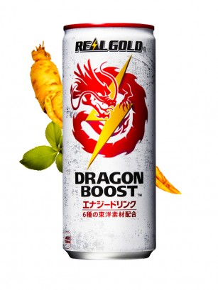 Bebida Energética Dragon Boost Triple Ginseng | Real Gold 250 ml