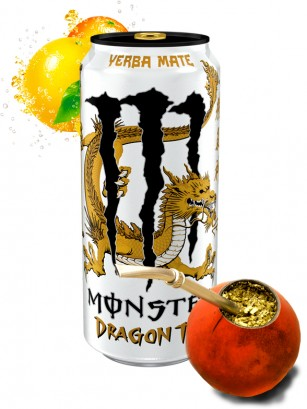 Monster Dragon Tea Yerba Mate | USA 458 ml