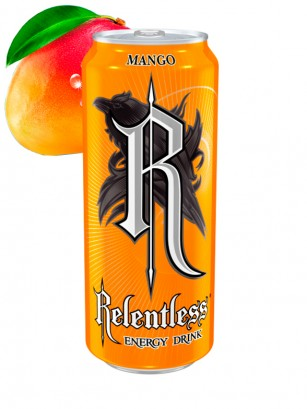 Bebida Energética Relentless Mango 500 ml.