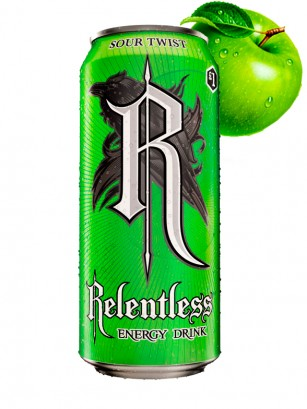Bebida Energética Relentless Sour Twist 500 ml.