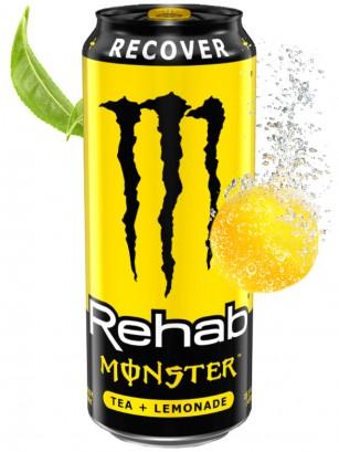 Bebida Energética Monster Rehab Recover Tea Lemonade | USA 458 ml.