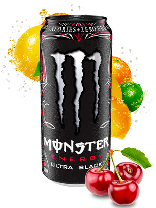 Monster Ultra Black Cherry | USA 473 ml