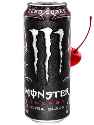 Bebida Energética Monster Ultra Black | 500 ml