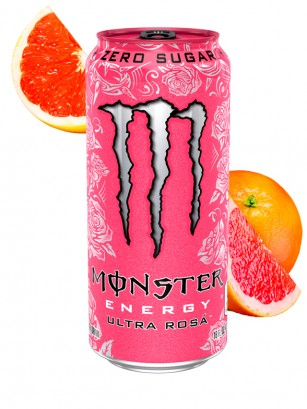 Monster ZERO Ultra Rosa | USA 473 ml