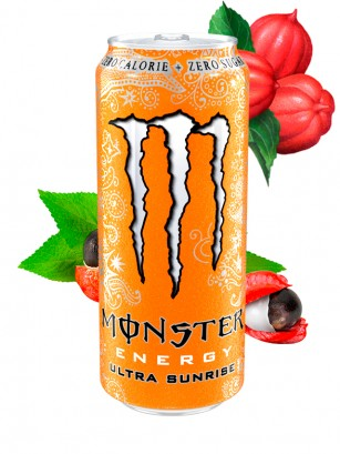 Monster ZERO Ultra Sunrise 500 ml