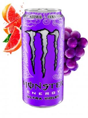 Monster Ultra Violet Grape Citric ZERO SUGAR | Polish Fioletowy 500 ml.