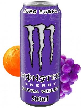 Monster Ultra Violet Grape Citric ZERO SUGAR | 500 ml