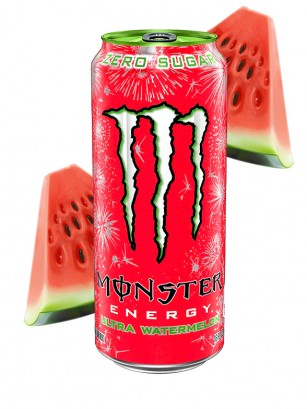 Monster ZERO Ultra Watermelon | USA 473 ml