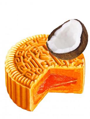 Pastel de Luna Grande relleno de Crema de Coco 150 grs.