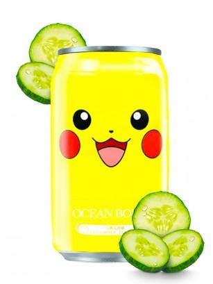 Agua Soda Sabor Pepino | Edición Pokemon 330 ml
