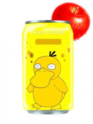 Agua Soda Sabor Manzana | Psyduck Edición Pokemon 330 ml