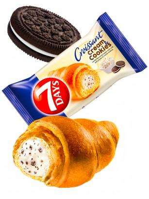 Cruasán de Crema de Cookies & Cream estilo Oreo | Max 110 grs