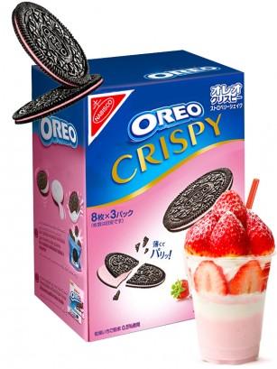 Oreo Finas Crispy de Batido de Fresa | Receta Japonesa | OFERTA NOVEDAD 154 grs