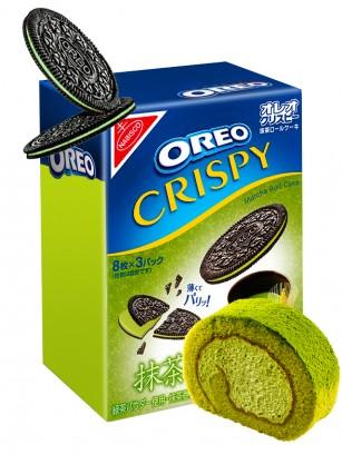 Oreo Finas Crispy de Matcha Roll | Receta Japonesa 154 grs