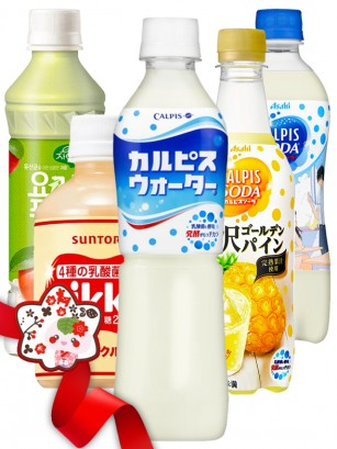 JaponShop Bebidas Calpis Lovers Style | Top Hits Gift Selection