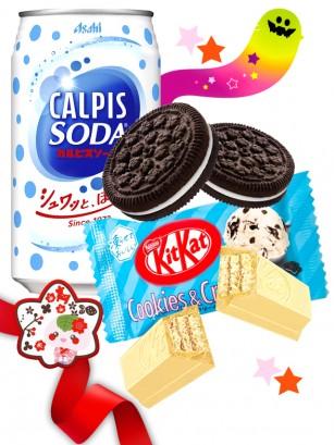 DUO PERFECTO Calpis Soda Style Kit Kat estilo Oreo | Gift