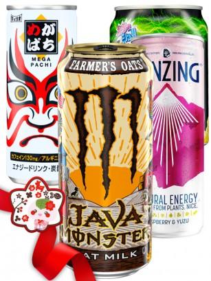 JaponShop Premium Box Energeticas | Top Hits Gift Selection