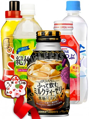 JaponShop Premium Box Bebidas Momo Ichigo | Top Hits Gift Selection