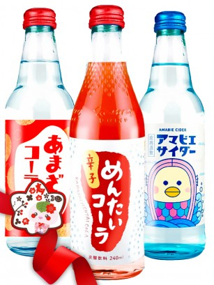 JaponShop Premium Box Bebidas | Top Hits Gift Selection