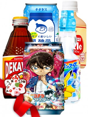 JaponShop Premium Box Bebidas | Top Hits Kawaii Gift Selection