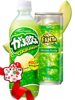 BATALLA PERFECTA Refresco de Helado de Melon & Fanta Melon | Gift
