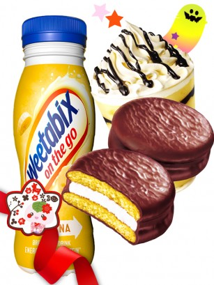 DUO PERFECTO Wetabix Banana &  Chocopie Banana  | Gift