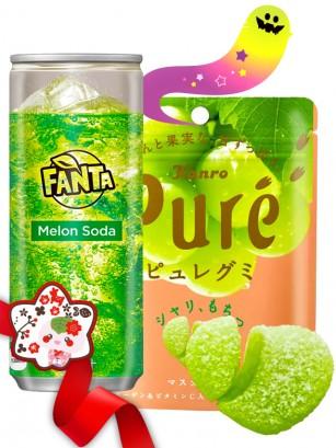 DUO PERFECTO Fanta Melon & Gominola Uva | Gift