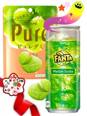 DUO PERFECTO Gominola Uvas & Fanta Melon | Gift