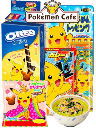 Menu Pokemon Café Restaurant Gift | Pedido GRATIS!