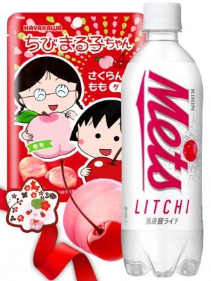 DUO PERFECTO Gominolas Maruko Chan & Soda Meets Lichi | Gift